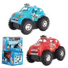 Free shipping Cartoon car model Electric Truck Toy Car Somersault Child Toy birthday Gift Christmas Halloween Present