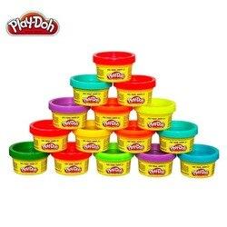 Play Doh мягкая пушистая Волшебная полимерная Пластилин формовочная глина слизь красочная воздушная Сухая масса для лепки шпатлевка для детей...