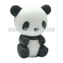wholesale cute animal chinese panda eraser,200 pcs per parcel freeshipping service