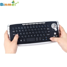 Mini 2.4Ghz High quality Fashion Bluetooth Wireless Keyboard Touchpad With Mouse For PC PS4 Smart TV_KXL0629(China)