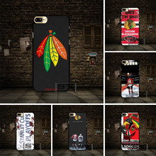 NHL ice hockey Chicago Blackhawks Cell phone Case Cover For Huawei P6 P7 P8 P9 P10 Lite Honor 3 4 4X 4C 7 V8 For LG G3 G4 G5