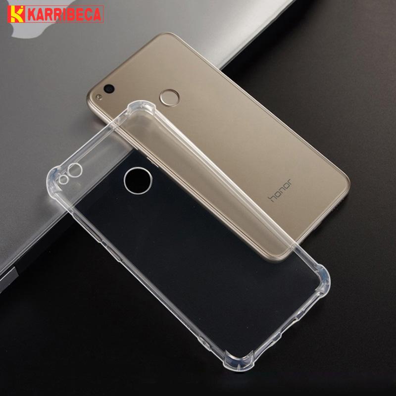 Transparent silicone case huawei P8 Lite 2017 honor 8 lite (5)