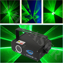 300mw Green laser beam and animation ,DMX ,party light/KTV light/laser projector/stage lights(China)