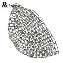 Relefree 123CM Fishing Net Clear Rubber Replacement Net For Fishing Landing Fishing Tackles(China)