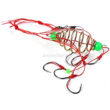 Fresh Water Sea Eagle Claw Jig Hooks High Quality Fishing Spring Hooks With Box Offset Circle Fishhooks Sharper Size