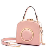 2017New Arrival Small Camera Bag for Women Cute Girls Satchel Bag Designer Handbag Leather Shoulder Messenger Bag bolsa feminina