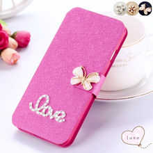 AXD New nice Love Luxury Silk Mobile Phone Bags Cases For Samsung Galaxy S3 S 3 three III i9300 Flip Hard Back Cell Cover Case(China)