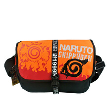 Anime Naruto Preppy Stlye Cosplay Messenger Bag Boys Girls School Sling Pack COS Shoulder Bags for Students Teenager