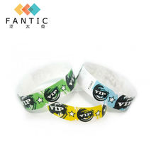 New arrival 200pcs without logo high quality paper bracelet, popular custom paper wristbands for events, admission wristbands