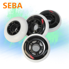 8 Pcs Inline Skates 85A Wheel for Skating Shoes, SEBA EU Edition Roller Skate Skating Wheels for FSK Free Slalom Skate Patins