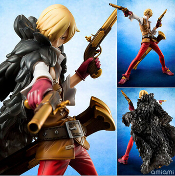 NEW hot 26cm One piece sanji Theater version action figure toys Christmas toy szda<br>