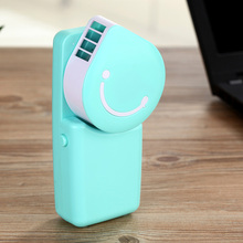 Mini Portable Rechargeable USB Fan Water Cooling Air Fan HandHeld Battery Air Conditioning Fan For Home Office Outdoor