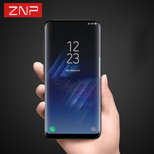 ZNP Nano Screen Protector For Samsung Galaxy S8 S8 plus 3D Curved Full Protective Film For Galaxy S7 Edge (Not Tempered Glass )
