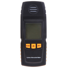LCD Digital Carbon Monoxide Meter CO Tester 0-1000ppm Smart Sensor Portable CO Gas Detector