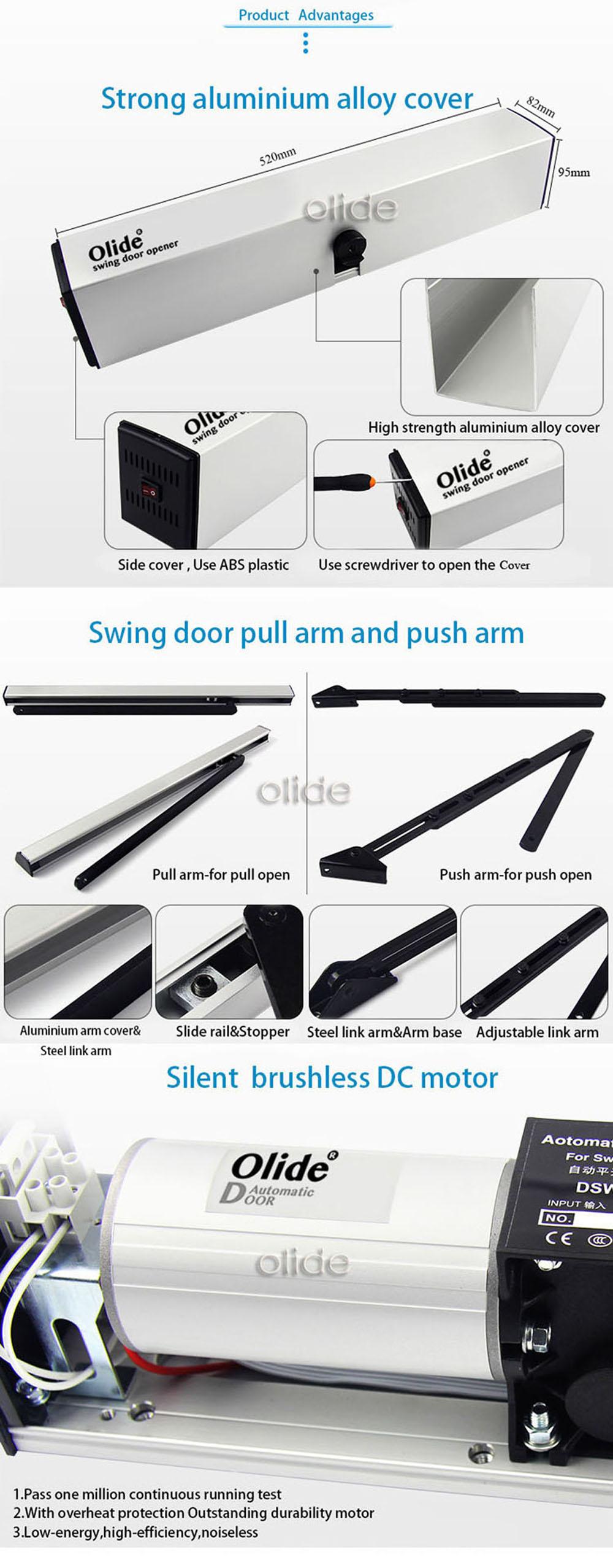 Swinging Open Door Mechanism Features 1