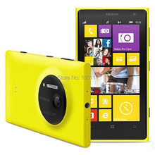 Nokia Lumia 1020 Original Mobile Phone Unlocked 4.5inch WIFI 41.0MP Camra 32GB ROM Dual core, Free DHL-EMS shipping