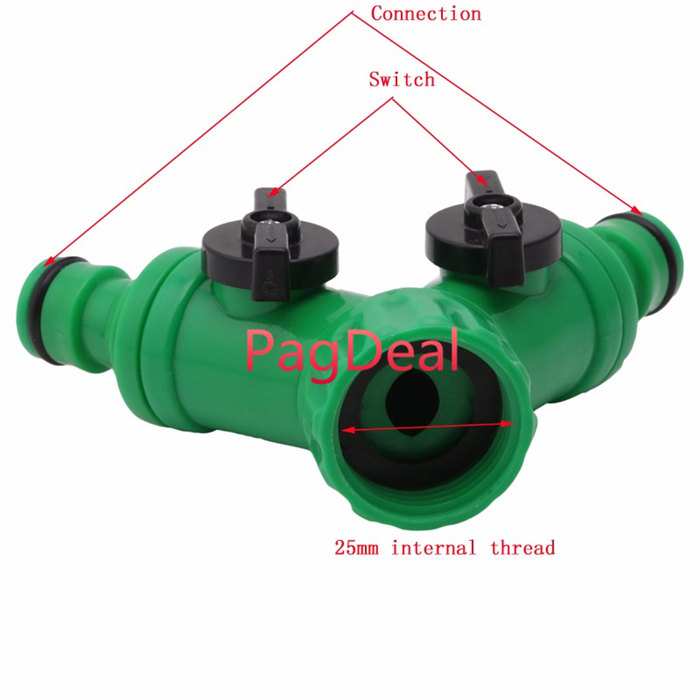 3 Way Water Splitter Valve Agricultural Sprayer Control Accessory HOT SALE