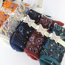 10Pairs/Lot Tube tide women socks retro folk style ladies full cotton socks manufacturers new winter in Japan and South Korea(China)