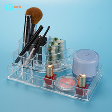 LIYIMENG Desk Organizer Makeup Storage Desktop Jewelry Box Acrylic Drawer Boxes Home Diy Decor Collection Tin Rouge Container