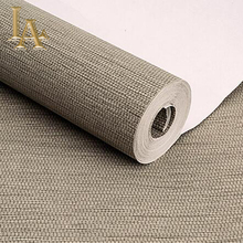high quality simple modern home wallpaper rolls sofa living room background straw wall paper pattern papel de parede W183(China)