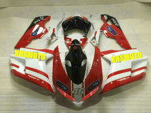 Injection mold Fairing kit for DUCATI 1098 1198 848 2007 2011 ducati 1098 1198 848 07 08 10 11 ABS Red white Fairings Set DB32