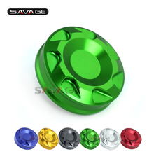 For KAWASAKI NINJA ZX6R ZX14R ZX10R Z1000SX NINJA 1000 Front Brake Master Cylinder Fluid Reservoir Cover Cap Motorcycle CNC(China)
