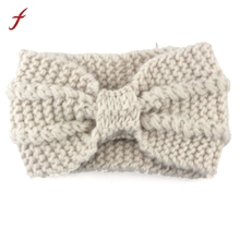 Women Knit Headband Crochet Winter Warmer Hairband Hair Band Headwrap Elastic bands headbands for women Hair Accessories 2017(China)
