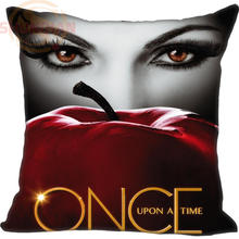 New Arrival Custom Pillow Case Once Upon a Time Style  Pillowcase zipper