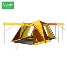 Tents China for Sale Large Automatic Double Layer Folding Winter Outdoor Camping Party 4 Season Tent 4 Person Family PU3000mm