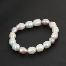 Buy 2017 Genuine Natural Freshwater Pearl Jewelry Colorful Beads Necklace Bracelet Charm Party Pearl Jewelry Women Gift Box for $8.23 in AliExpress store