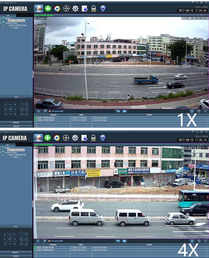 Outdoor Waterproof IP camera Zoom 16