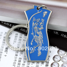 [5 pcs /lot ]  Fancy dress keychain metal fashion key ring keyfob accessories Free Shipping 5350