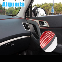 5 m Car Grille Inner Outer Profiles Trim Decorative Ribbon Line for Subaru Forester Outback Legacy Impreza XV BRZ