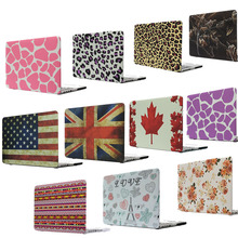 New Flag Cute Print Hard Case For Apple Macbook Air Pro Retina 11 12 13 Retina 15 Laptop Bag For Mac book 13.3 inch Cover PC(China)