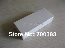 10 PCS White Box Size 2.56 x 1.38 x 0.44 inch 65x35x11MM White Paper Gift Box Electronic Product Packaging The White Box