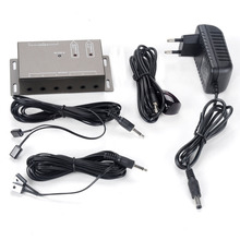 High Quality IR Remote Extender 4 Emitters 1 Receiver Infrared Repeater System Kit(China)