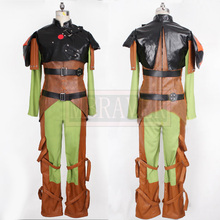 How to train your dragon 2 Hiccup Cosplay Costume Fighting Full Set Custom Made Any Size