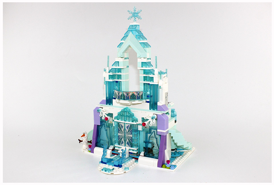 Lepin Building Blocks Model 25002 Compatible Legoes Pricess The Elsa`s Magical Ice Castle 41148 Toys For Children<br>