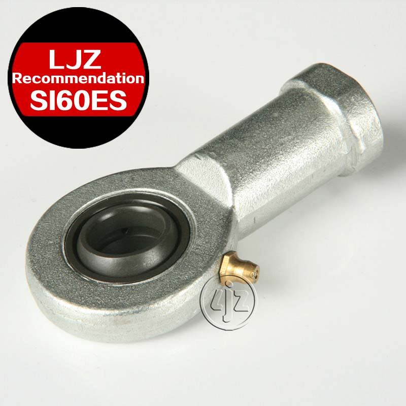 Combination of rod ends Bearings M52*3 Right and Left hand thread 60 mm ball 1Pieces/lot<br>
