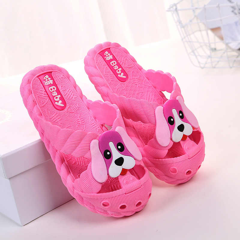 Children Slippers for Girls Boys Summer Sandals Kids Flip Flop Home Bath  Shoes Baby Casual Non a7d16c4fe649