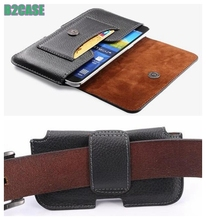 for Sony Xperia Z5 Z4 Z3 Z2 C3 T3 T2 Z1L39h Z1L39t Man Style Belt Clip Magnetic Phone Case Delxue Leather Mobile Cover bag