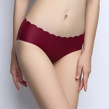 2017 new styles Women's Panties Waist Beautiful Buttocks Sexy underwear Nothing Trace Seamless Lace Comfortable Will Briefs(China)