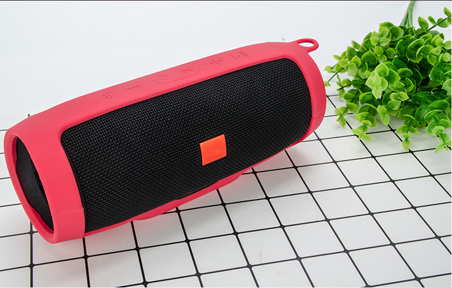 Newest for JBL Charge3 Protective Case Cover Soft Silicone Holster Bluetooth Speaker Shockproof Waterproof Protective Sleeve