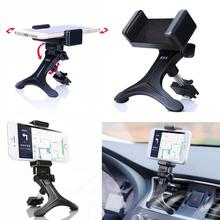 car-styling Black Car Air Vent Mount Cradle Holder 360 Degree Stand For Mobile Smart Cell Phone GPS audi a4 b6 Galaxy Samsung(China)