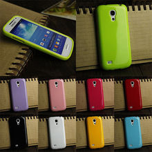 OWNEST 8 colorful TPU Soft Silicone S Line Phone Case Cover For Samsung Galaxy S4 mini i9190