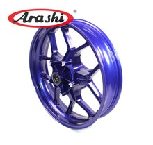 Arashi Motorcycle Front Wheel Rim For YAMAHA R1 2015 2016 2017 Black Blue High Quality Aluminum Alloy Front Rims(China)