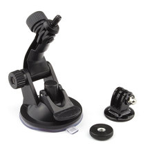 GoPro Car Suction Cup Sucker Holder Mount for Go Pro Hero 4 3 2 1 For SJ4000 Camcorder Action Camera DVR Accessories