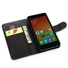 Buy Stand Wallet Phone Cases Xiaomi Redmi 2 Bag Luxury Leather Flip Case Card Holder Cover Xiaomi Redmi2 Coque Fundas for $3.43 in AliExpress store