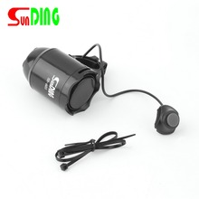 Waterproof Loud Cycling Electric Bicycle Horn Password Bike Handlebar Ring Bell Alarm Cyclist Accessories Speaker In Stock(China)