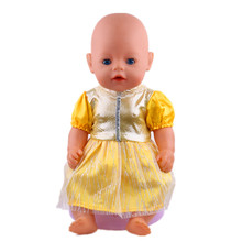 Lovely pink leisure new born baby Zapf \ clothes 43 cm for 45cm doll is the best birthday gift in the United States b769